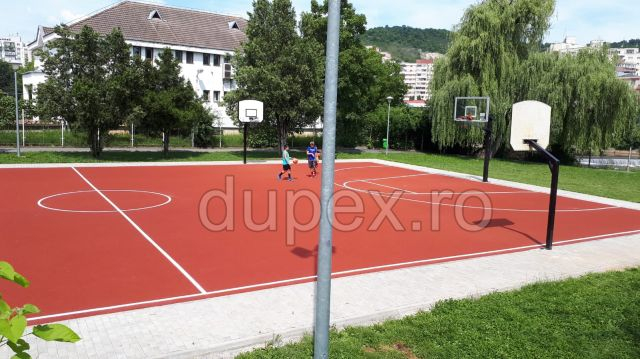 Basketball Field, Rozelor Park - Cluj-Napoca 2018 P1
