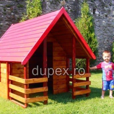 Casuta lemn copii CL.01 Dupex