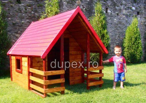 Casuta lemn copii CL.01Dupex Sebes