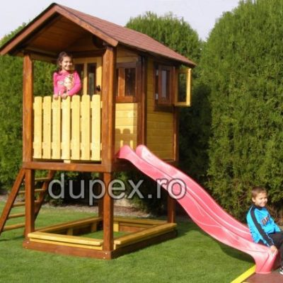 Casuta lemn copii CL.03 Dupex Sebes