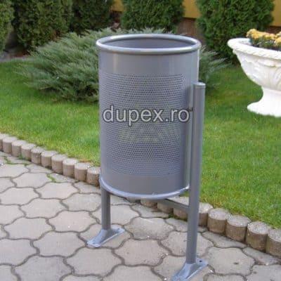 Coş gunoi metal CG.60 L Dupex Sebes