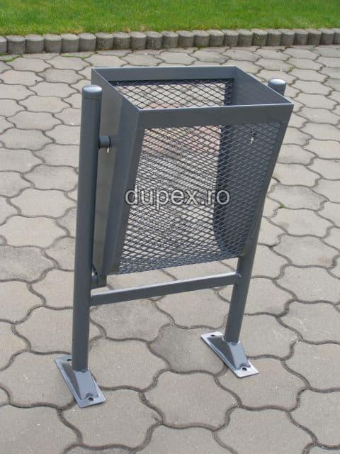 Cos gunoi metal CG.30 L Dupex Sebes