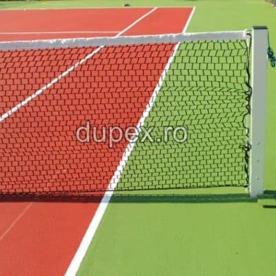 Fileu tenis de camp cu stalpi sustinere FT.01 Dupex Sebes