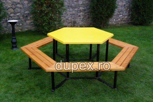 Masa hexagonala MH.01 Dupex Sebes