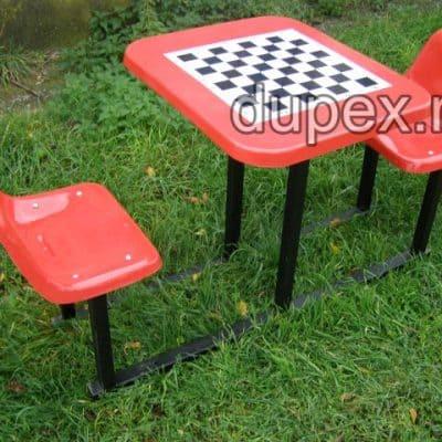 Masa sah cu 2 scaune MS2S.01 Dupex Sebes