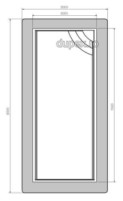 Piscina termoizolata din fibra de sticla P.02 Dupex Sebes