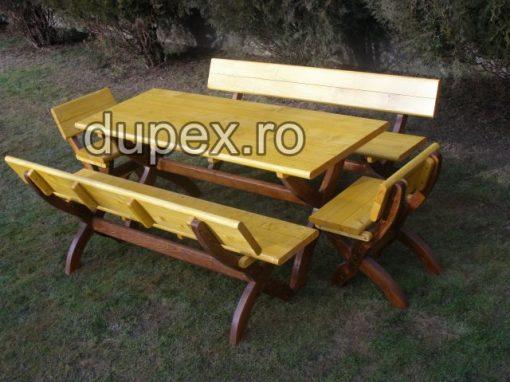 Set masa lemn 10 persoane SML.01 Dupex Sebes