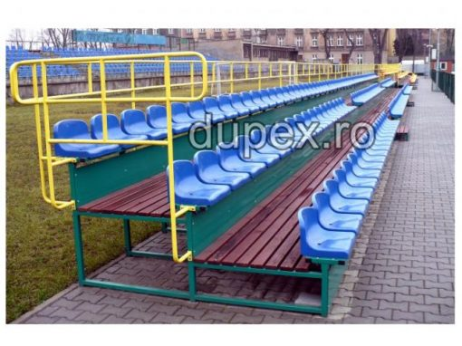 Tribuna stadion 36 locuri cu podea lemn TS.36 - L Dupex Sebes