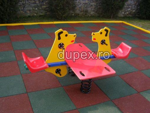 Balansoar cu arcuri si platforma BAP.02 Dupex