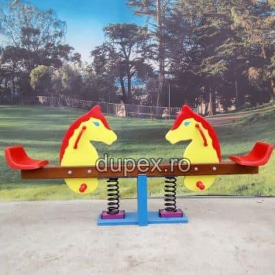 Balansoar lemn cu arc - Caluti BLA.01 Dupex