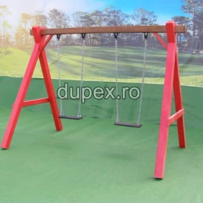 Hinta Lemn 2 scaune HL.01.01 A Dupex