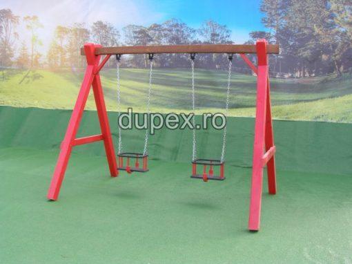 Hinta Lemn 2 scaune HL.01.01 B Dupex