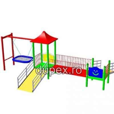 Model Complex de Joaca pentru copii cu dizabilitati CJ.49 Dupex