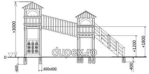Schita Complex De Joaca CJ.43 Dupex