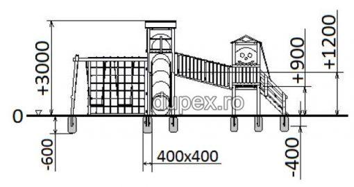 Schita Complex de Joaca CJ.46 Dupex
