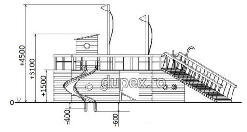 Schita Complex de Joaca CJ.47 Dupex