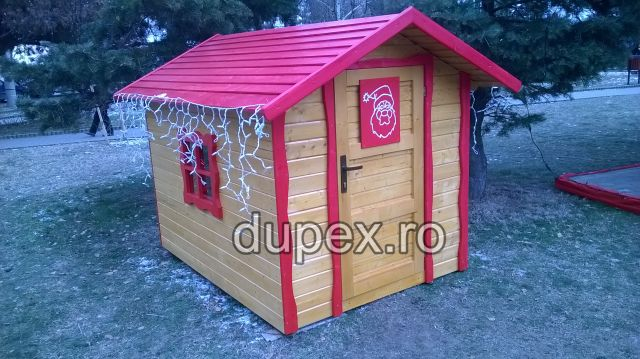 Casuta lemn CL.06 Dupex Sebes