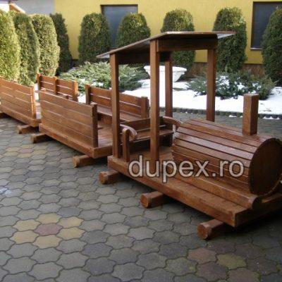 Trenulet lemn TRE.03 Dupex Sebes