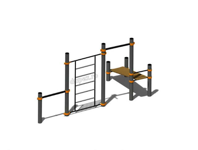 Aparat Fitness Calistenic CR.11 2 1 1